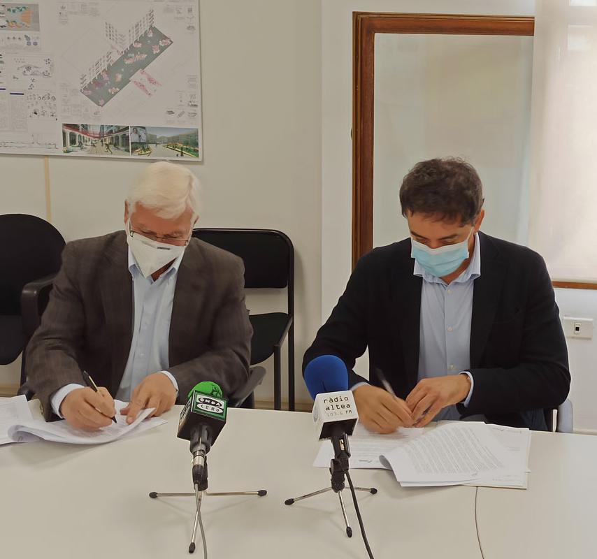 L'Ajuntament d'Altea i Turisme Comunitat Valenciana signen un conveni de col·laboració