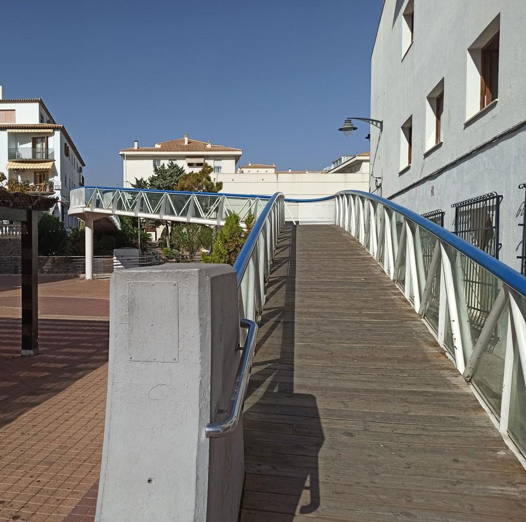 Infraestructures anuncia el tancament temporal de la Passarel·la de l'Ajuntament per a la seua remodelació