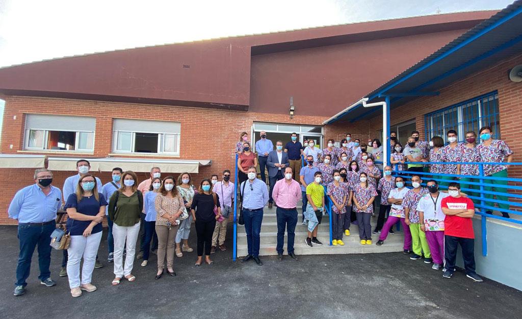 Benestar Social i Sanitat visita les noves instal·lacions de 'El Secanet'