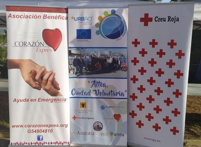 Altea opta al Premio de Voluntariado 2020