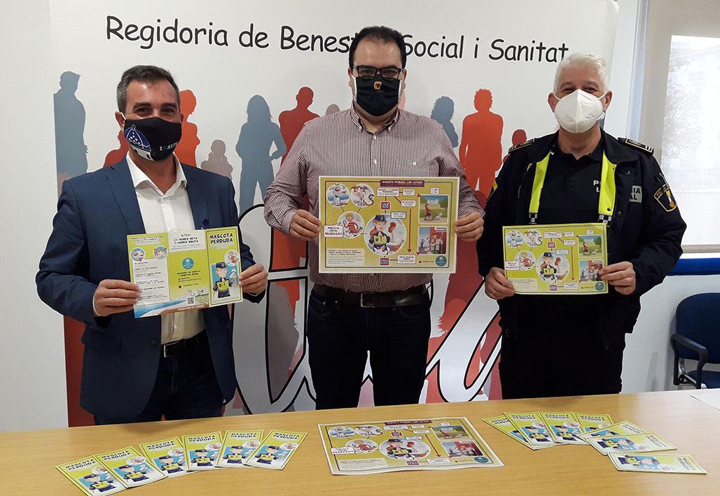 """Benestar Animal dóna a conèixer les properes accions de la regidoria i presenta la campanya """"Mascota perduda"""""""