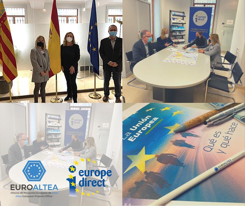 EuroAltea se reúne con Europe Direct Generalitat Valenciana