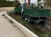Medi Ambient escomet tasques de manteniment en el barranc Els Arcs