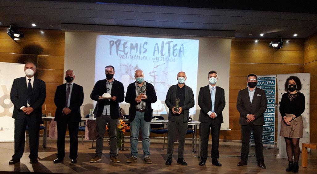 """Lliurats els """"Premis Altea de Literatura i Investigació 2020"""" i presentada l'edició de les obres guanyadores"""