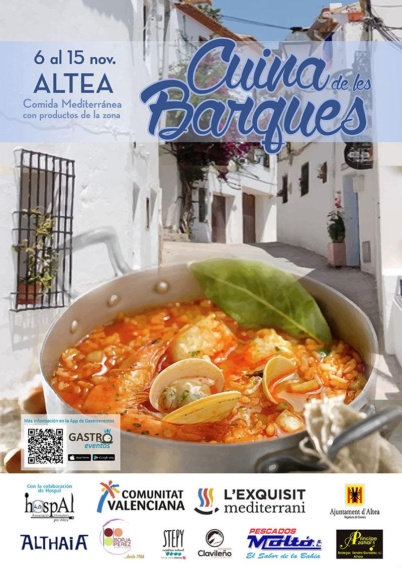 """Des del 6 a el 15 de novembre gaudeix de la gastronomia local amb """"La Cuina de les Barques"""""""
