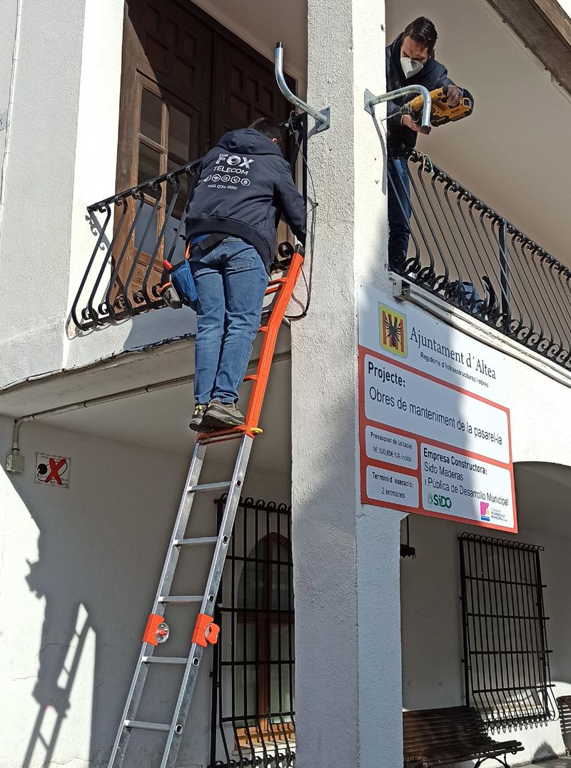 """Empieza la instalación de antenas de wifi público del programa """"Wifi4EU"""""""