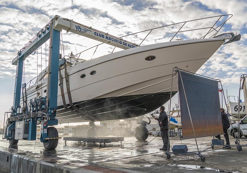 El CN Altea mantiene su actividad portuaria invernal