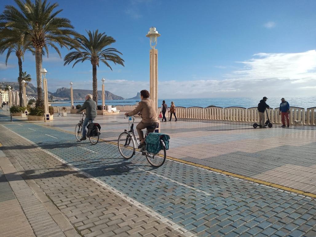 El Ayuntamiento de Altea inicia la fase de participación del Plan Director Bicicleta y VMP de Altea
