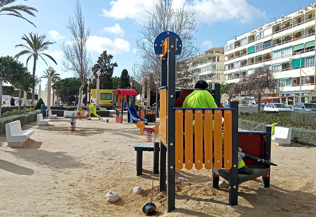 La Pública actuará en todos los parques infantiles de Altea
