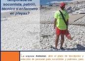 L'Ajuntament d'Altea anuncia una oferta de treball de Ambumar per a socorrista
