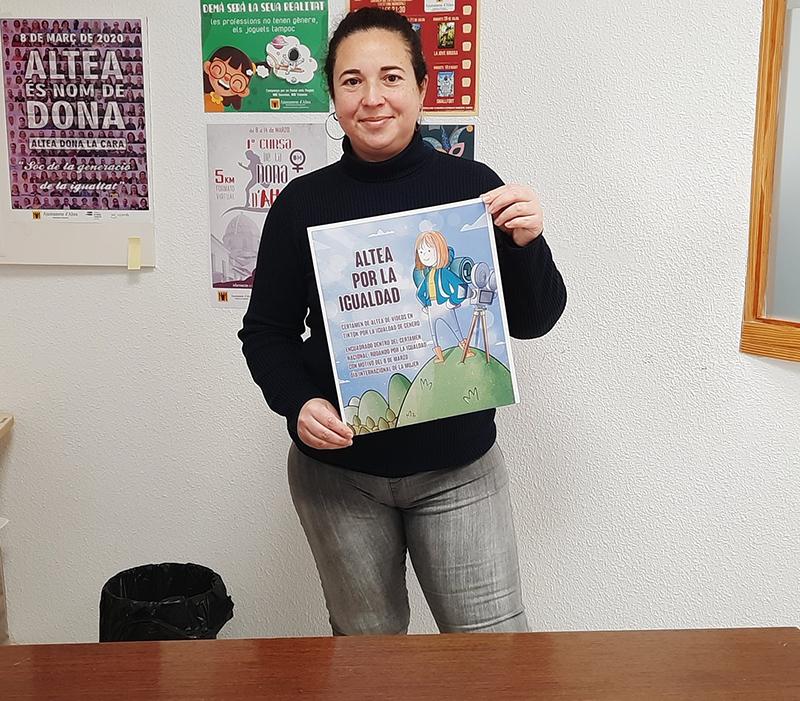 """La Concejalía de Igualdad presenta """"Altea por la igualdad"""", certamen que insta a la ciudadanía a la creación de vídeos en TikTok"""