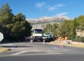 A petició de l'Ajuntament, Carreteres millora la circulació al encreuament de l'AP-7 amb Altea la Vella