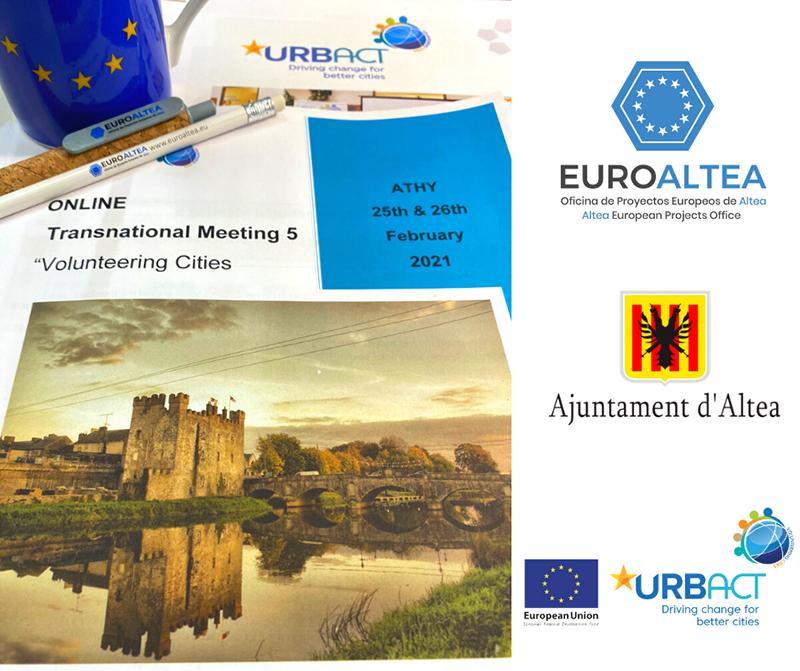 EuroAltea participa en el 5º evento transnacional en Athy, Irlanda