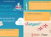 Turismo anuncia los nuevos plazos para adherirse en el programa Bono Viaje Comunidad Valenciana