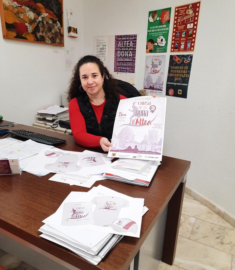 Igualtat organitza la primera Cursa de la Dona d'Altea en format virtual