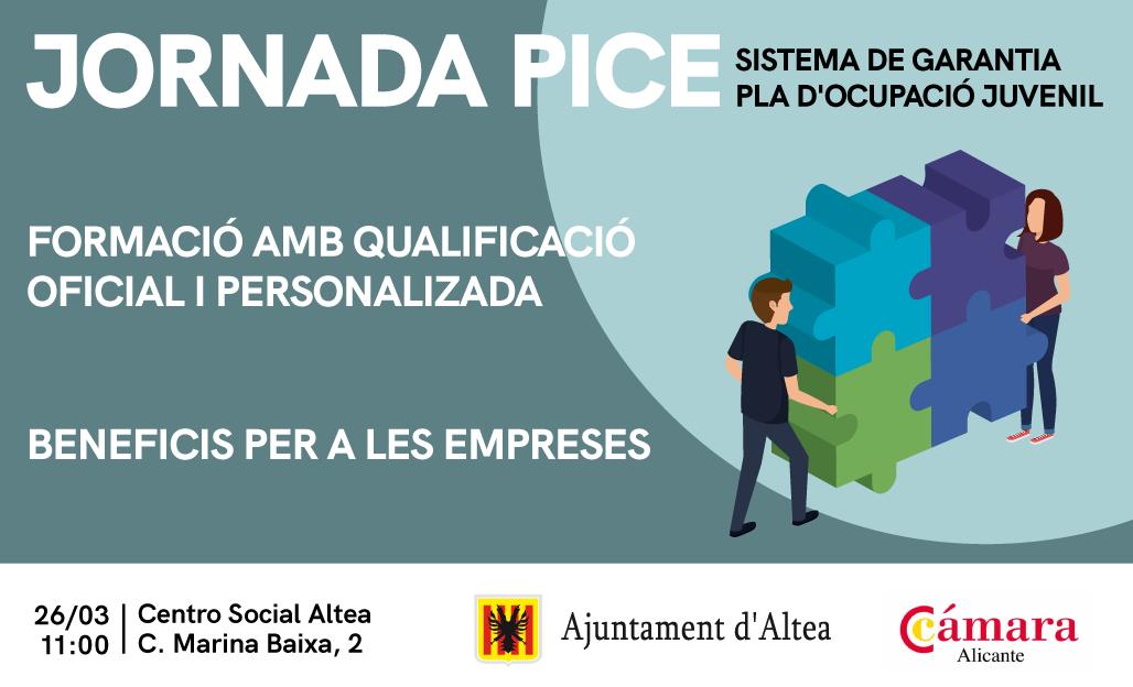 Altea recibe una jornada de puertas abiertas sobre el programa PICE para jóvenes y empresas
