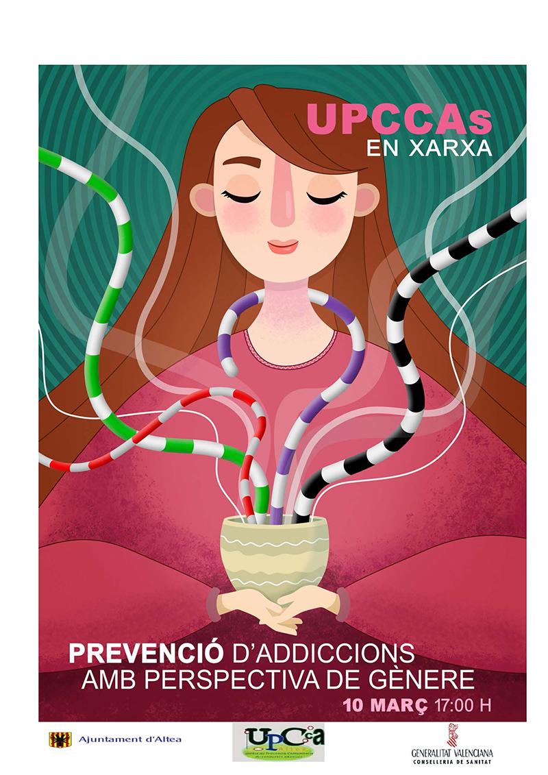 La UPCCA d'Altea participa en una jornada sobre prevenció d'addiccions amb perspectiva de gènere