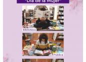 La Biblioteca Municipal s'afegeix a la celebració del 8 de març amb una mostra bibliogràfica