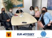 Concluye el programa Eurodysée para las cuatro jóvenes desplazadas a Altea