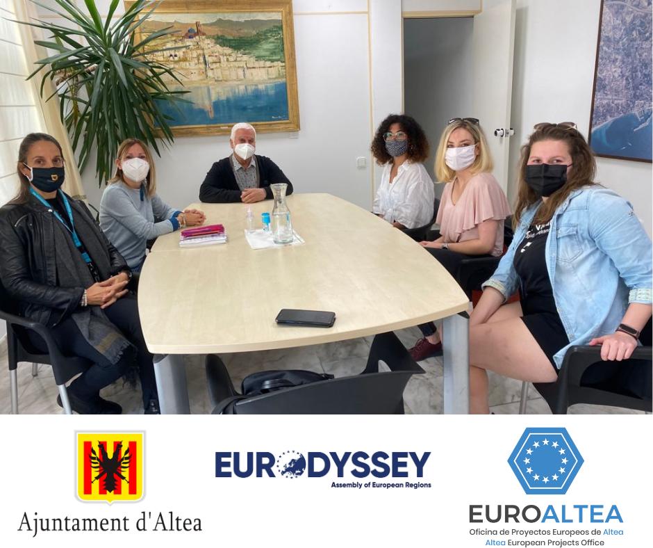 Conclou el programa Eurodysée per a les quatre joves desplaçades a Altea