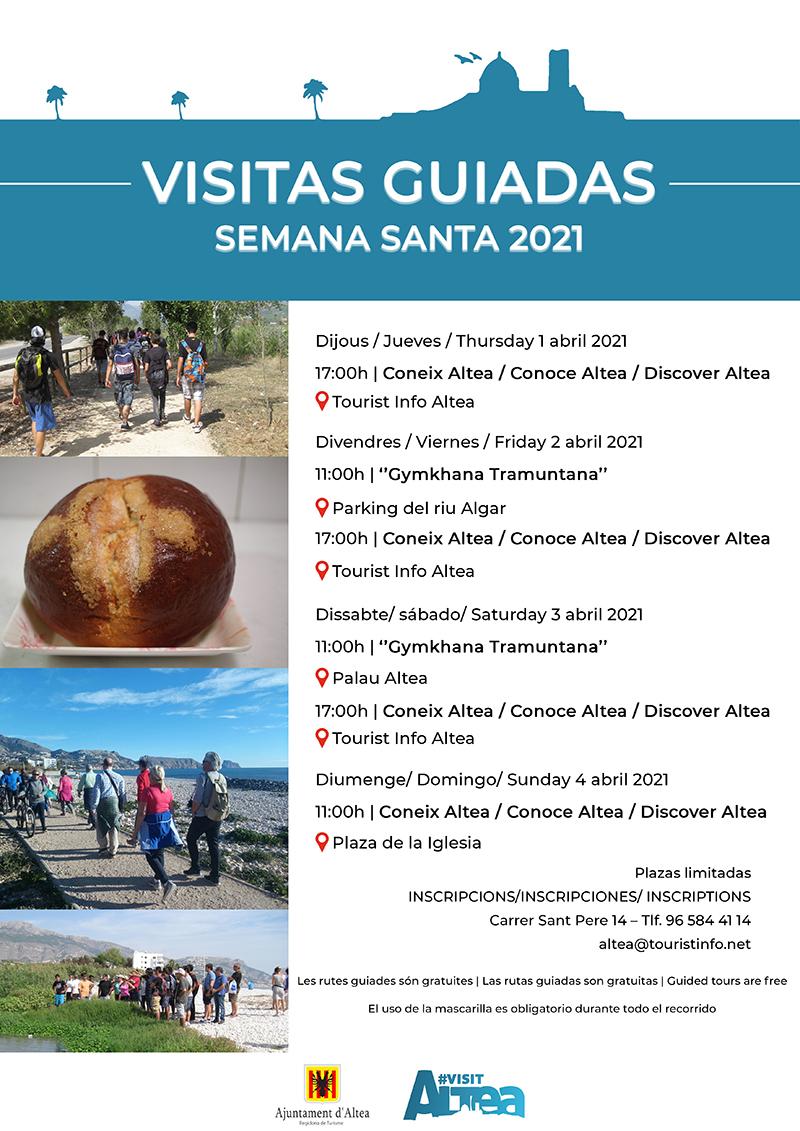 Turisme anuncia les Visites Guiades de Setmana Santa