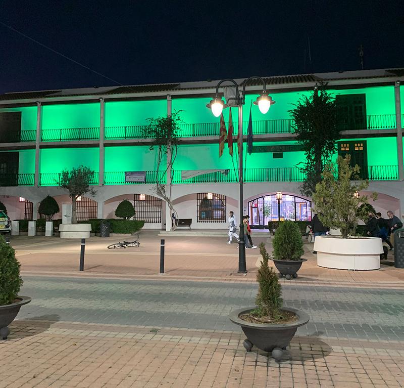 Altea iluminará de verde la fachada del Ayuntamiento para celebrar el día de San Patricio