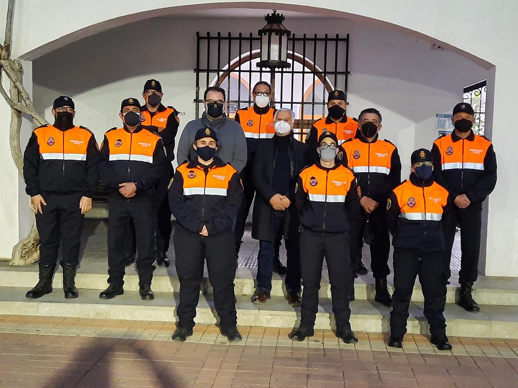 El Ayuntamiento reconoce el trabajo de Protección Civil Altea en su día