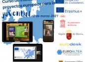 EuroAltea participa en un curso de iniciación a proyectos europeos para la juventud en Murcia
