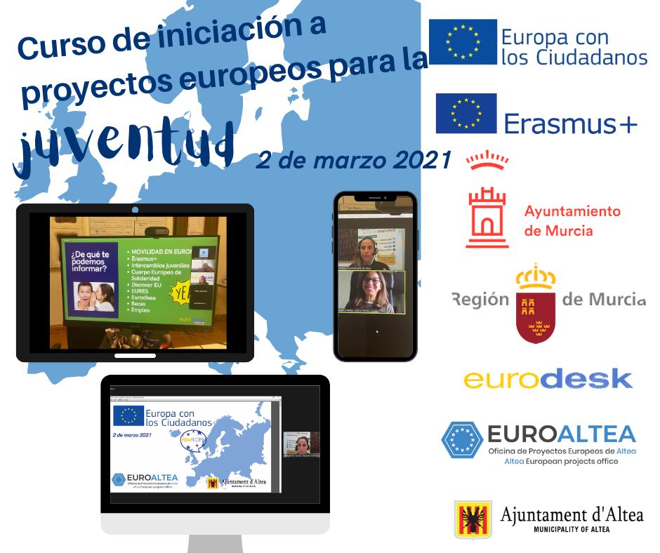 EuroAltea participa en un curs d'iniciació a projectes europeus per a la joventut a Múrcia
