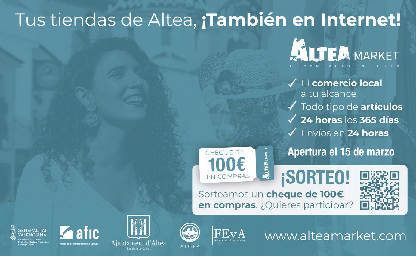 Comercio inicia las acciones promocionales de Alteamarket