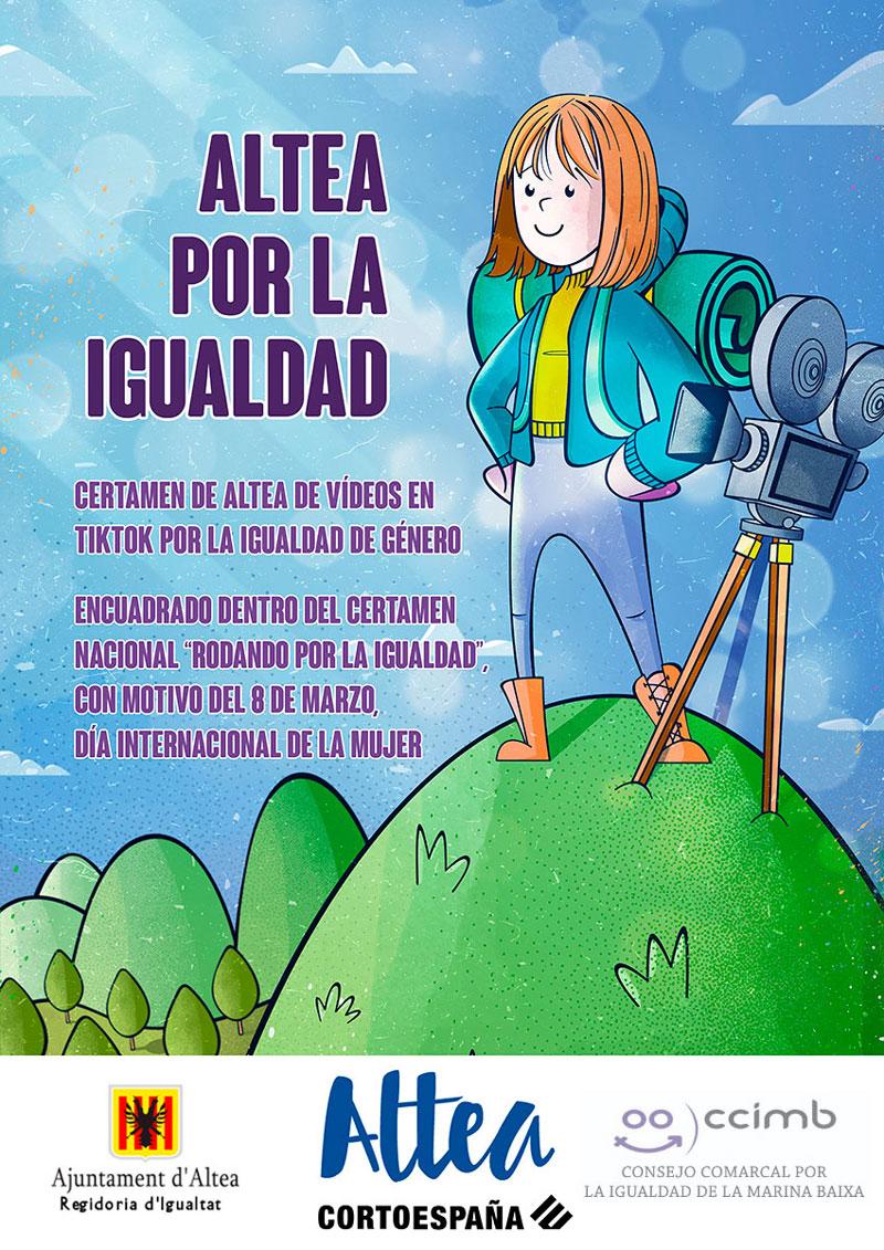 """Igualtat anuncia els premis de """"Marina Baixa por la igualdad"""""""