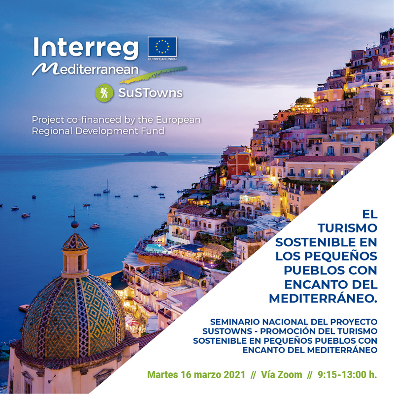 EuroAltea i Turisme participaran en els seminaris SuSTowns
