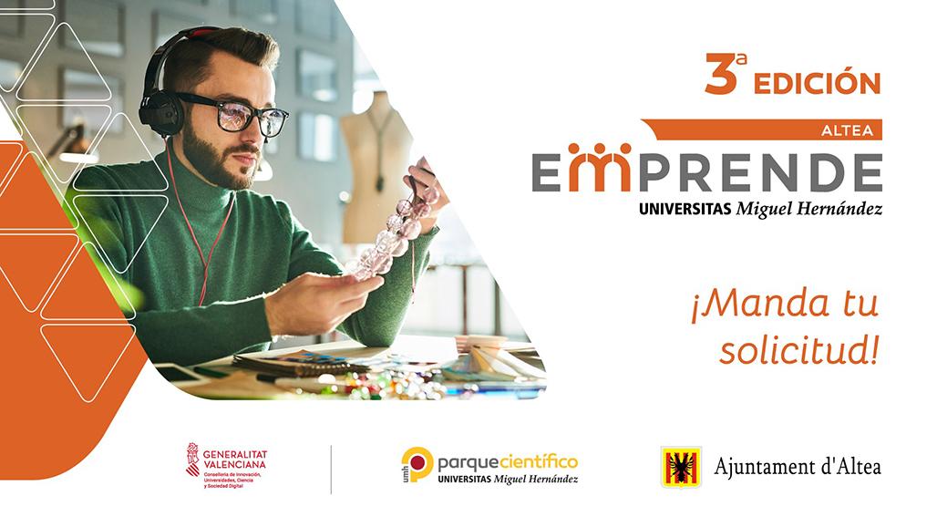 Altea Emprende obri el període d'inscripcions per a la seua 3a edició