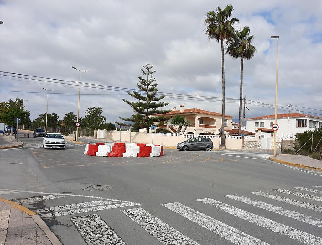 Infraestructuras ejecutará una rotonda en la Avenida Juan Alvado