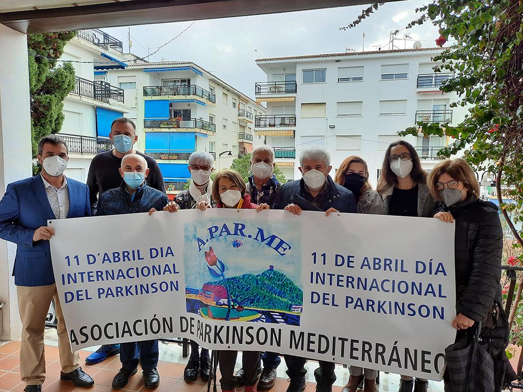 L'Ajuntament d'Altea dóna suport a l'Associació de Parkinson Mediterrani