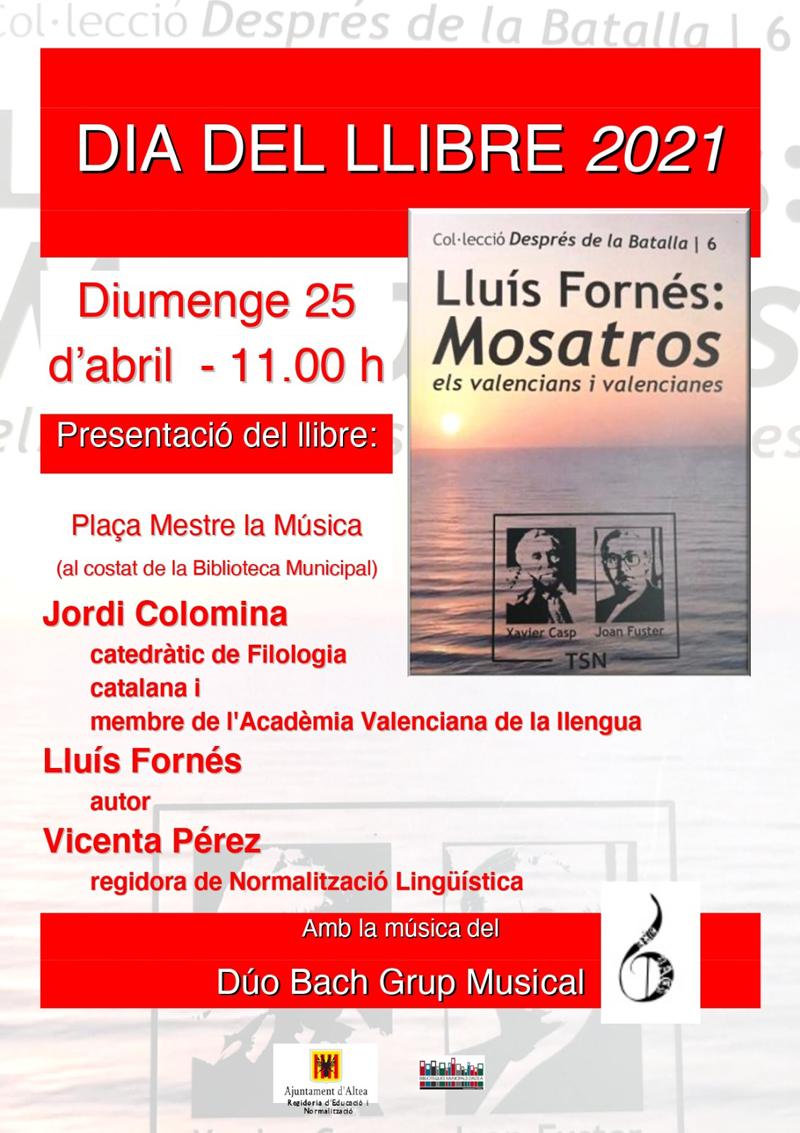 """Altea acogerá la presentación de """"Mosatros: els valencians i valencianes"""""""