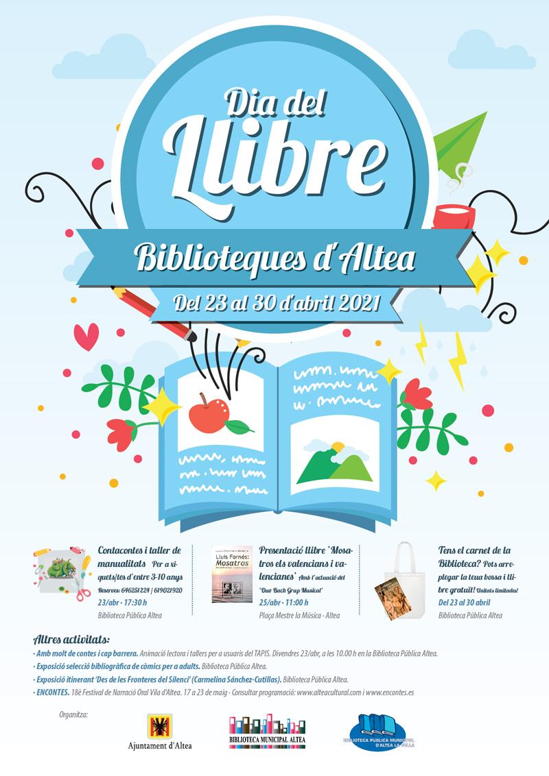 Celebra el dia del Llibre a les biblioteques d'Altea
