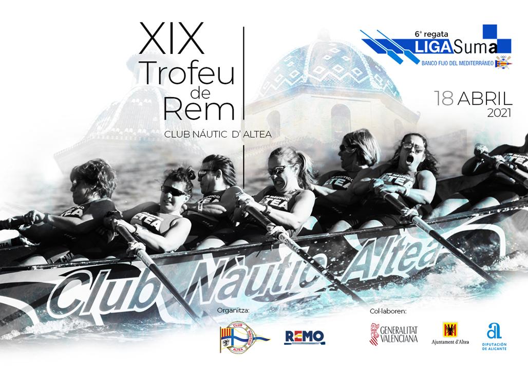 El Club Nàutic acollirà la 6a regata de la LLIGA SUMA – XIX Trofeu de Rem CN Altea