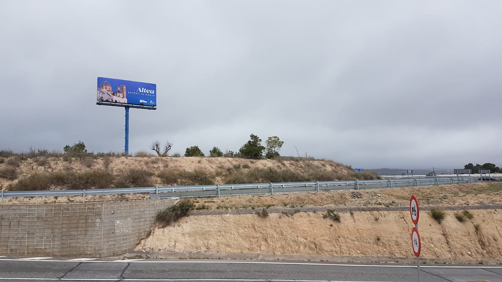 Turismo apuesta por una campaña de publicidad exterior en carreteras