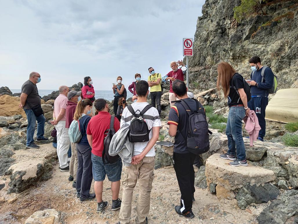 El Afloramiento Volcánico de Cap Negret protagonista en el Geolodía