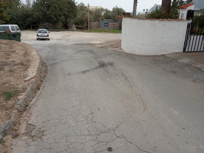 Infraestructuras anuncia una nueva acción de asfaltado menor