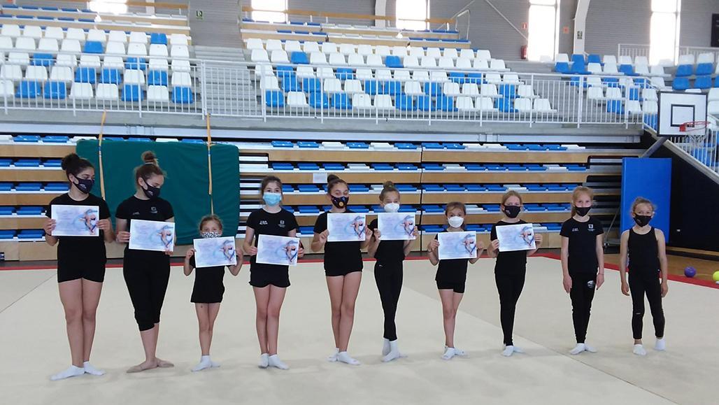 Bons resultats per a les gimnastes alteanes en la seua primera competició en línia