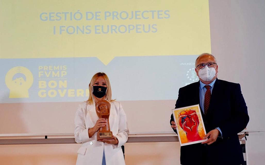 Altea recoge el premio Buen Gobierno a la Gestión de Proyectos y Fondos Europeos de la FVMP