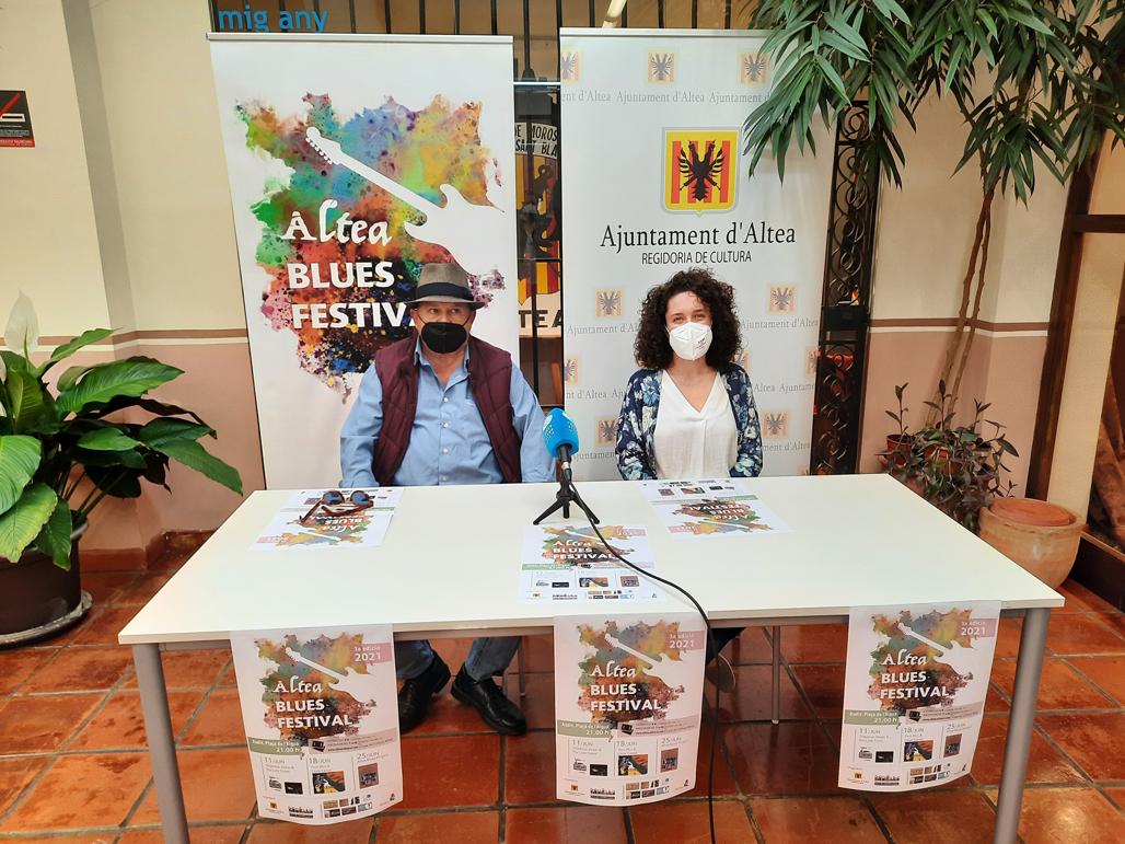 Cuatro grupos completan el cartel de la 3ª edición de Altea Blues Festival