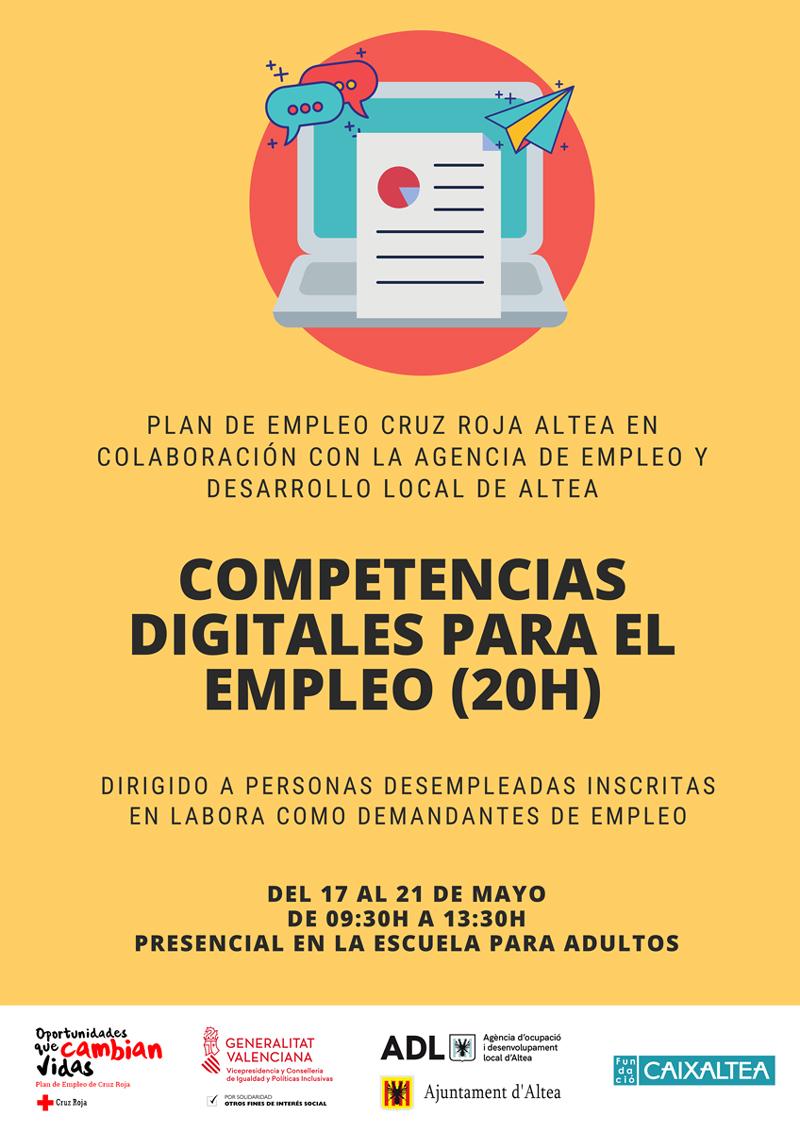 Obert el termini d'inscripció per al curs de Competències Digitals