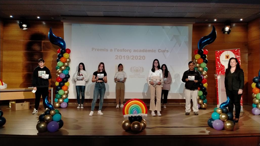 El Consell de Xiquets i Xiquetes entreguen els Premis a l'Esforç Acadèmic 2019-2020