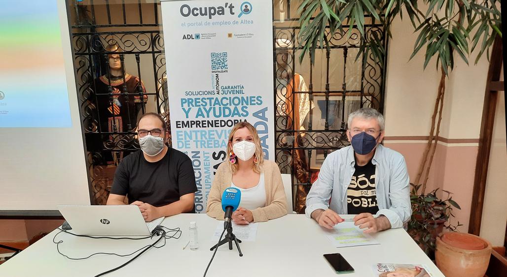 Foment de l'Ocupació presenta el portal Ocupa't