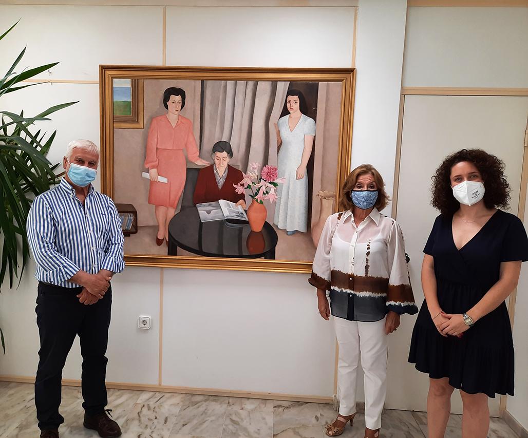 La família de Navarro Ramón fa una nova donació d'obra a Altea