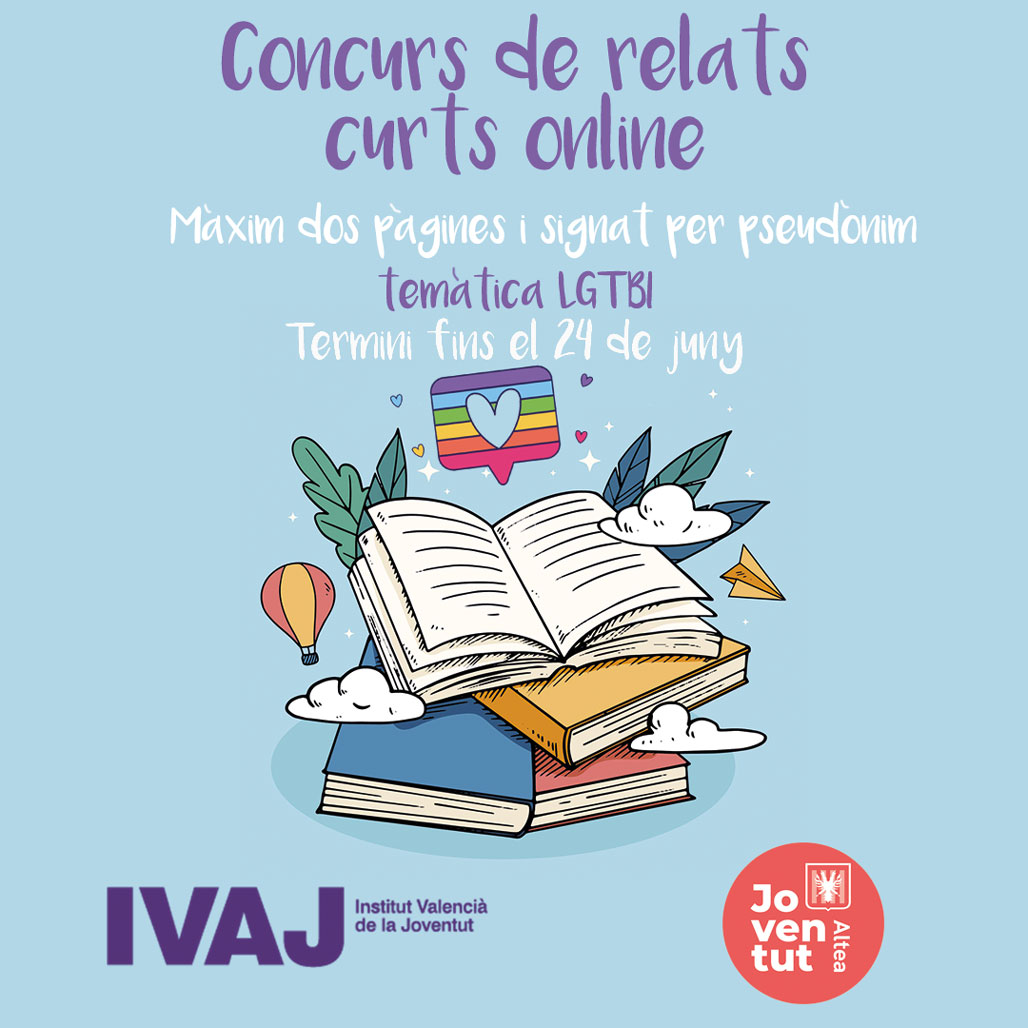 La concejalía de Juventud ha organizado un concurso de relatos breves online