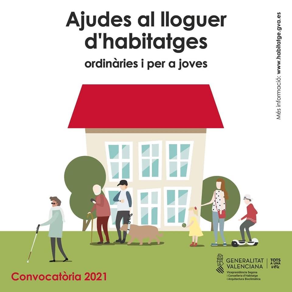 Participación Ciudadana informa de las ayudas al alquiler de la Consellería de Vivienda